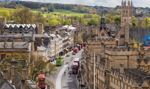 Travel to Oxford